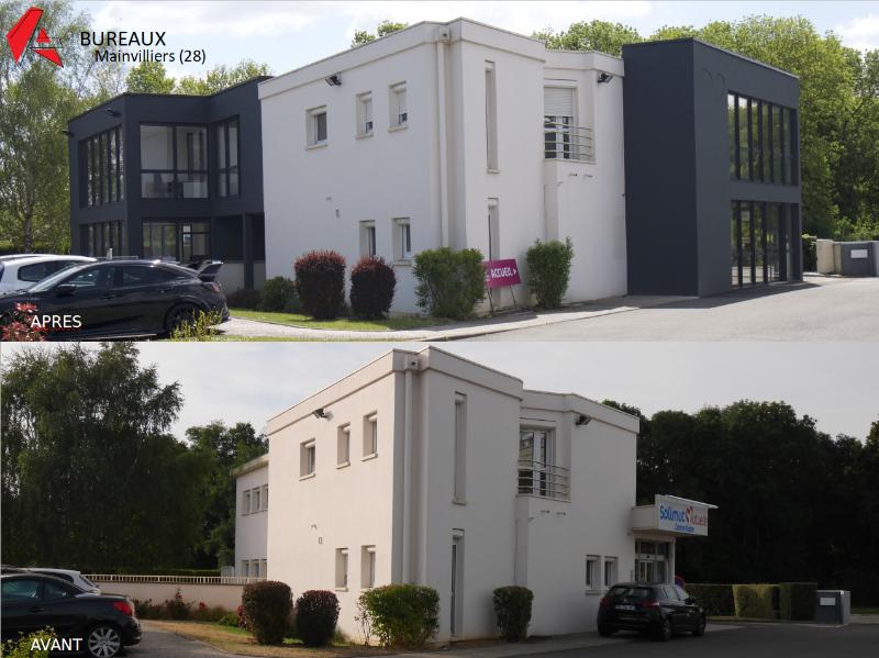 PROJET DE BUREAUX  -                                 Projet d'extension avec rénovation des existants