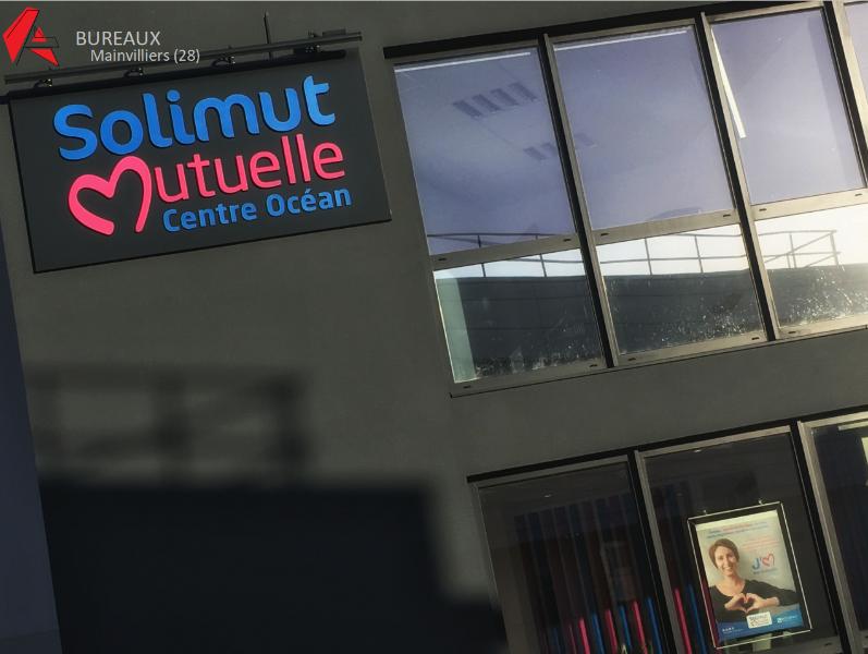 BUREAUX : PROJET D'EXTENSION AVEC RENOVATION COMPLETE DE BUREAUX EXISTANTS